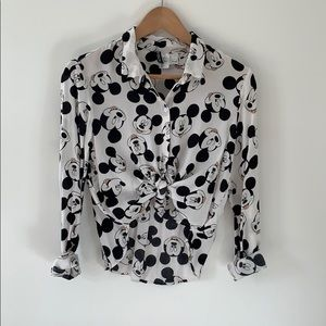 Disney for H&M Mickey collector Button down M